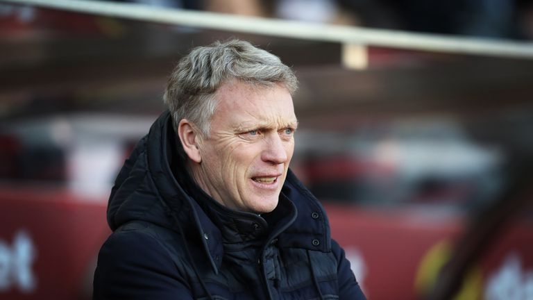 David Moyes was announced as the new West Ham boss on Tuesday