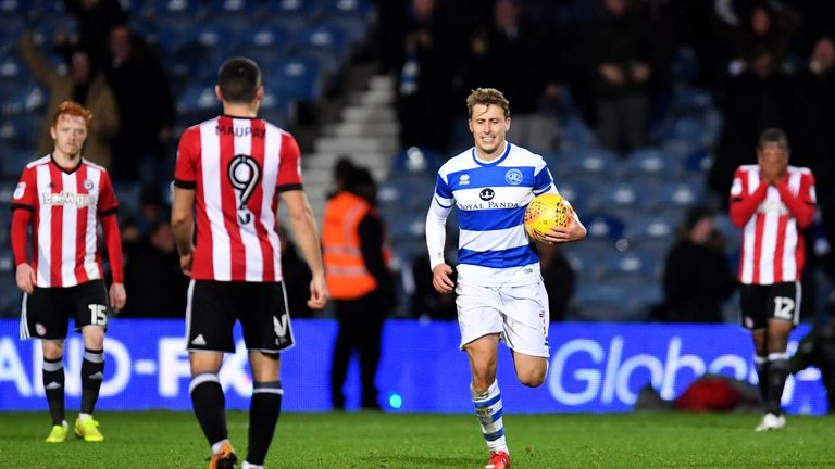 Luke Freeman has made 61 Championship appearances for QPR