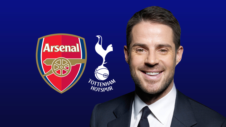 Jamie Redknapp expects the north London derby to be a tight game
