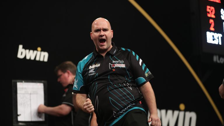 Rob Cross' sensational season continued with a run to the quarter-final in Wolverhampton