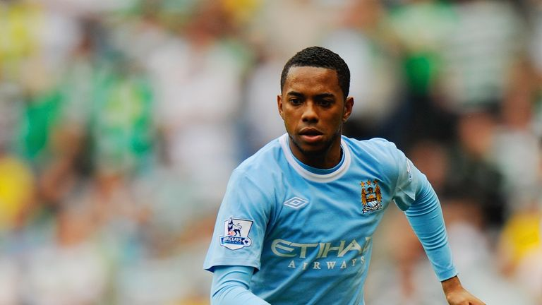 Robinho was a big-money signing for Manchester City on the day their takeover was completed
