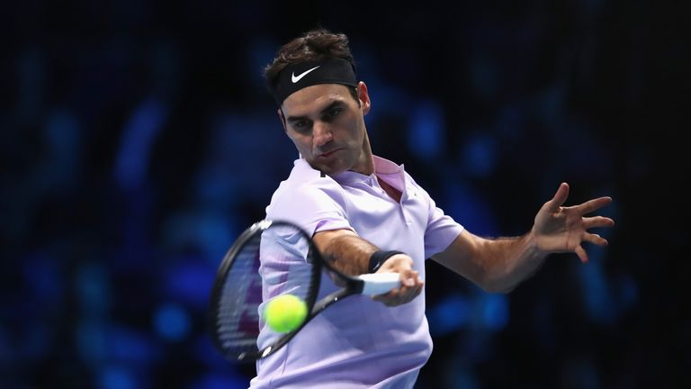 Roger Federer beat Marin Cilic in three sets on Thursday