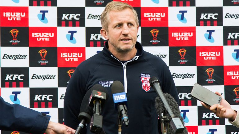 Denis Betts is no longer one of England's assistant coaches