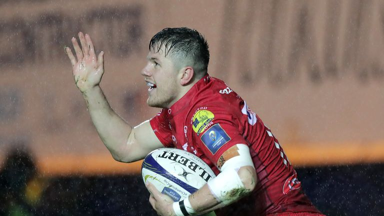 Steff Evans' performances for the Scarlets over the last two years have been magnificent