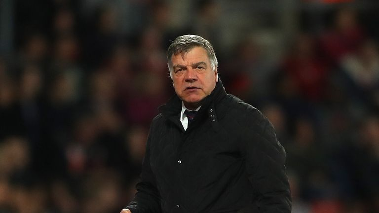 Sam Allardyce decided to leave Crystal Palace at the end of the season
