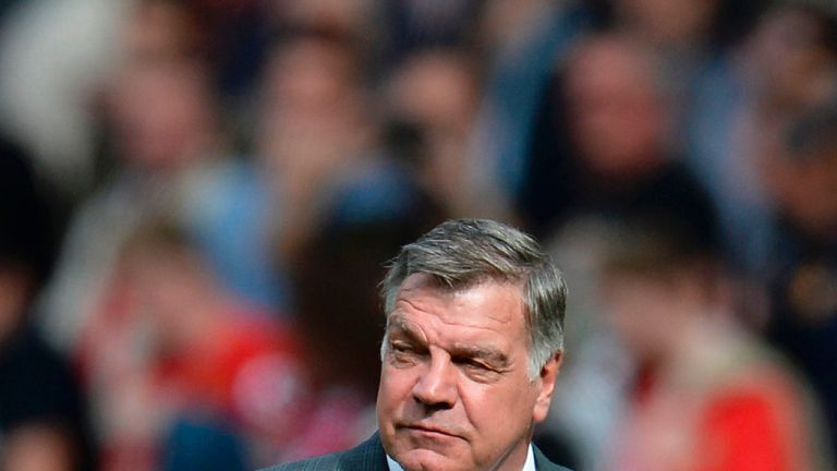 Sam Allardyce is poised to take over at his seventh Premier League club