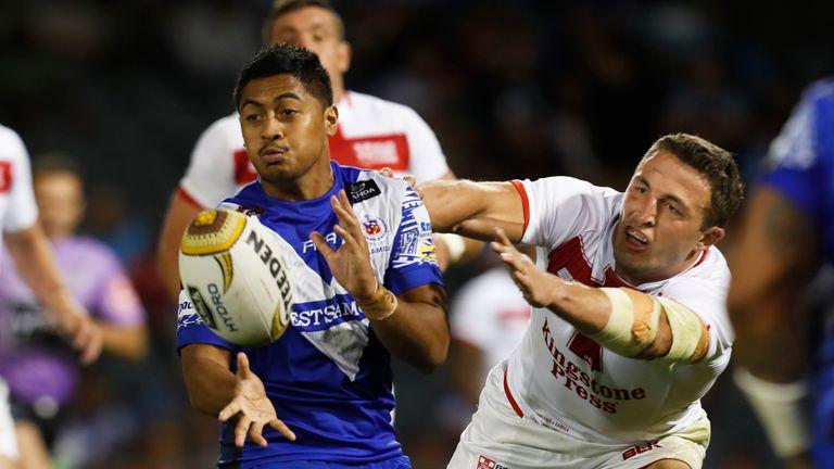 England faced Samoa in a mid-season Pacific Test in Australia