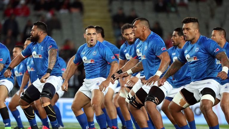 Samoa will receive £75,000 for Saturday's Twickenham Test, live on Sky Sports Action