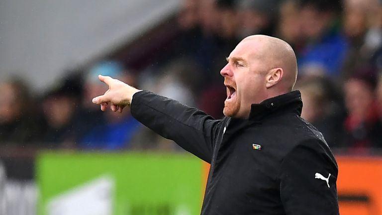 Sean Dyche has plenty of admirers at Burnley