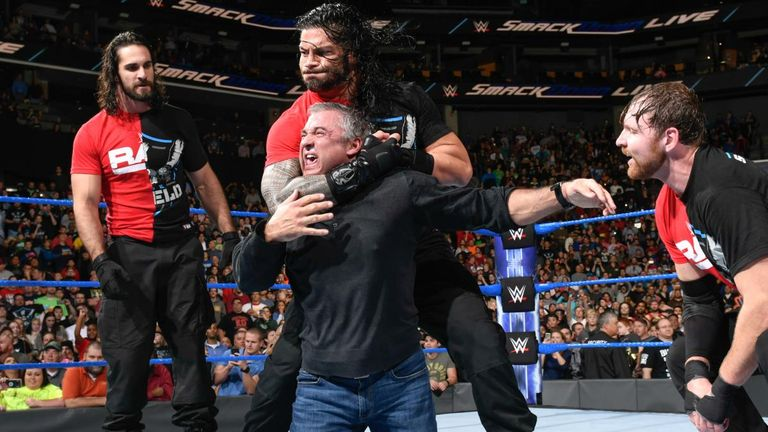 Shane McMahon was made to regret his decision to line up alongside his SmackDown troops against the Raw invaders