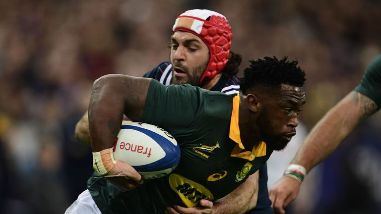 South Africa earned a morale boosting away victory against France in Paris
