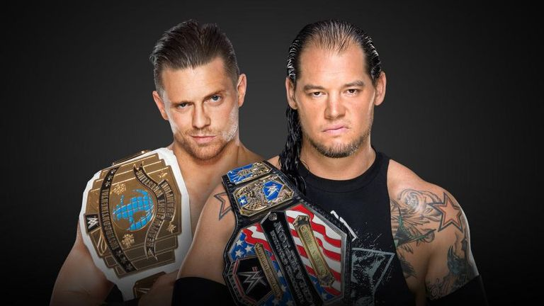 The Miz faces Baron Corbin at Survivor Series