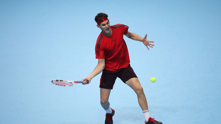 Thiem has been unable to play on fast hardcourt surfaces