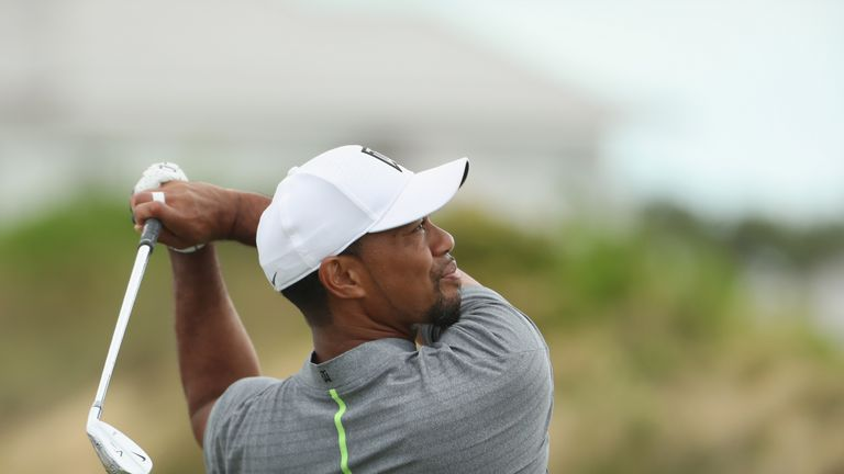 Woods insisted he no longer feels pain in his back or legs since having spinal fusion surgery