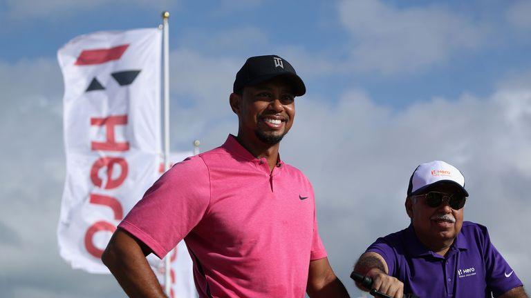 Tiger Woods will be part of the 18-man field at the Hero World Challenge