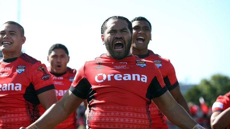Tonga will now face England or Papua New Guinea in the semi-finals