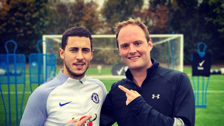 Tubes meets Chelsea star Eden Hazard in this week's show