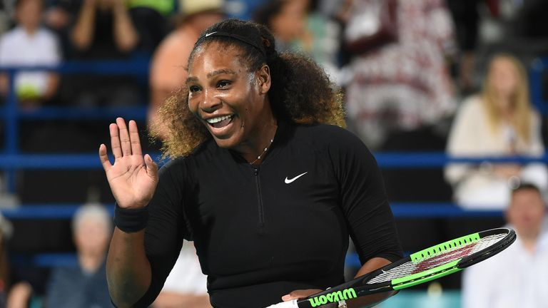Williams has not featured in a competitive tournament since the 2017 Australian Open