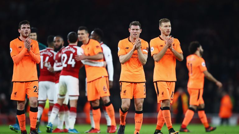 Liverpool's weaknesses were exposed in their 3-3 draw away to Arsenal