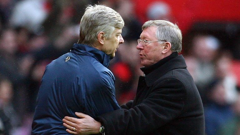 Sir Alex Ferguson has congratulated long-time rival Arsene Wenger on breaking his Premier League record
