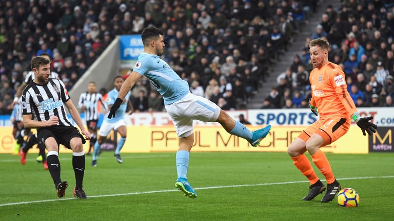 Newcastle travel to the Etihad less than a month after they lost 1-0 to City at St James' Park