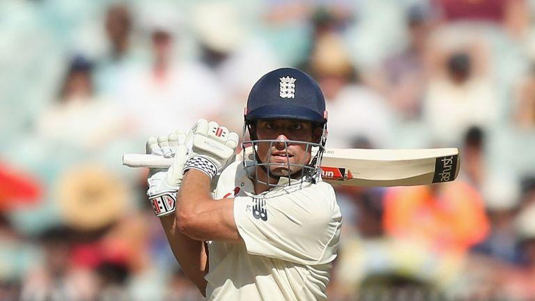 Alastair Cook struck his 32nd Test century