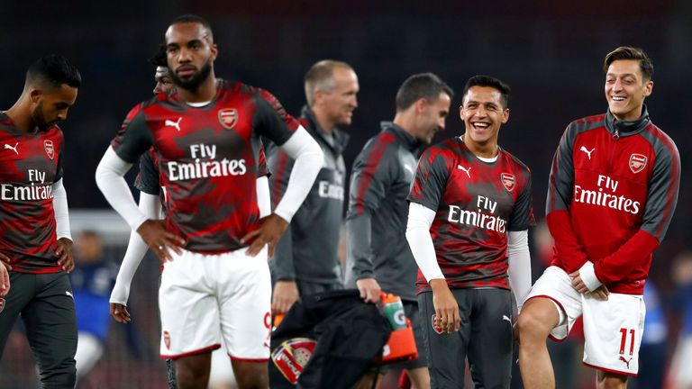 Mesut Ozil and Alexis Sanchez are out of contract in the summer