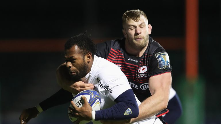 The Saracens lock has been capped 25 times by England