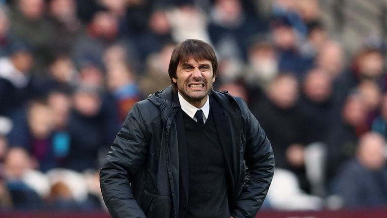 Five of Antonio Conte's nine Premier League defeats at Chelsea have been in London derbies (Crystal Palace x2, Arsenal, Tottenham & West Ham)