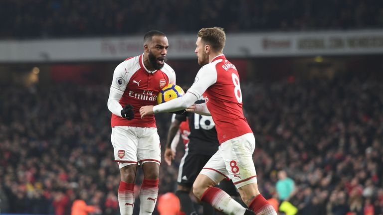 Alexandre Lacazette's efforts at the Emirates proved not enough for the hosts