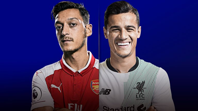 Watch Arsenal v Liverpool live on Friday Night Football