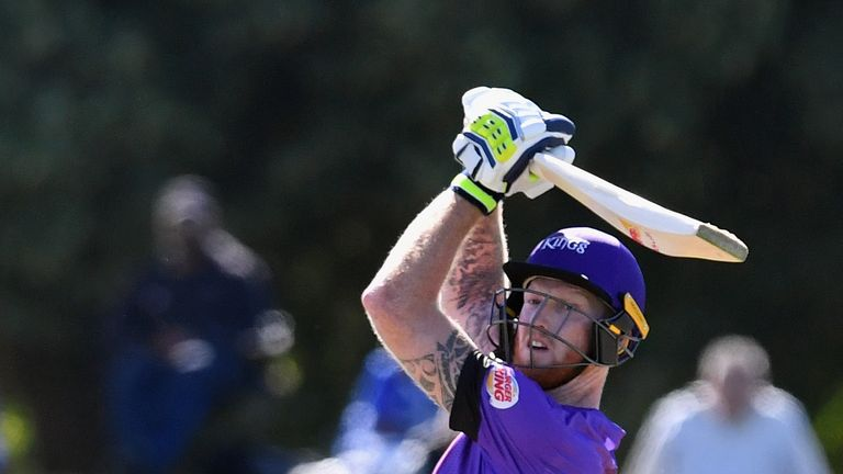 Ben Stokes played for Canterbury in New Zealand's domestic competitions over the winter