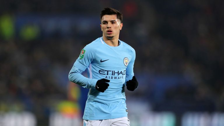 Brahim Diaz plays in a similar position to local boy Foden