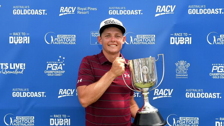 Queenslander Cameron Smith secured the Australian PGA title in his home state