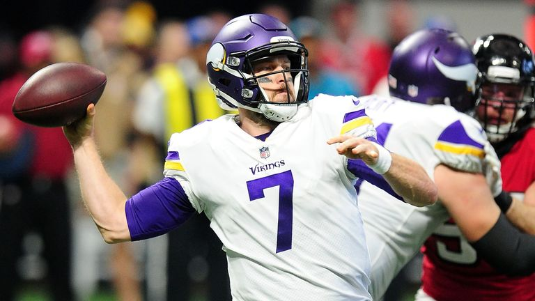 Case Keenum has proven himself a bona fide star at QB for the Vikings