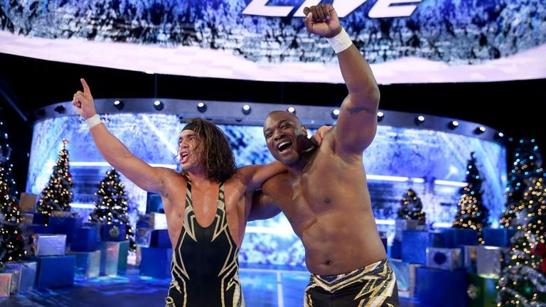Chad Gable and Shelton Benjamin will take on the Usos for the SmackDown titles next week