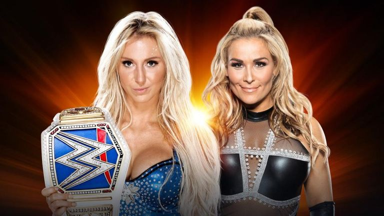 Natalya bids to regain her SmackDown women's title from Charlotte Flair