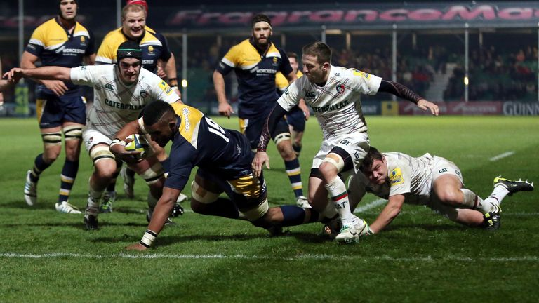 Scotland-Williamson played for Worcester from 2014-2017