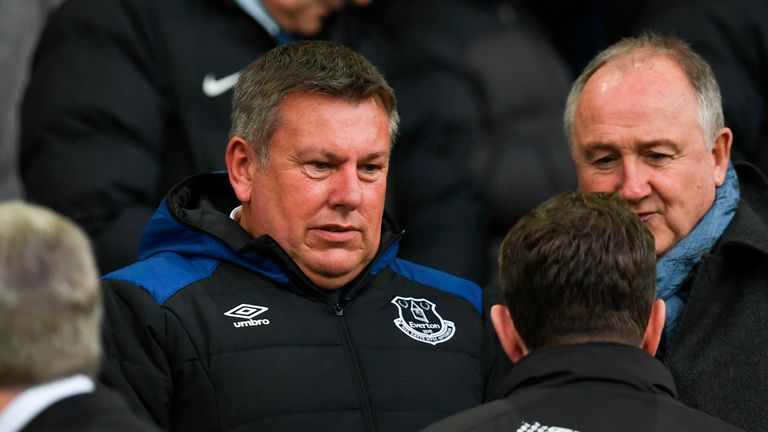 Craig Shakespeare said he is 'delighted' to be a first-team coach at Everton