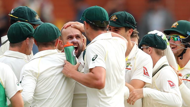 Nathan Lyon will play a big part against England's left-handers on day five, says Hussain