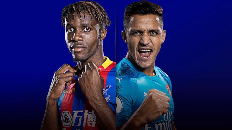 Palace host Arsenal live on Sky Sports on Thursday night