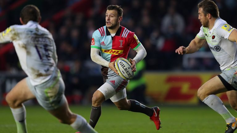 Danny Care was excellent for harlequins against Saracens
