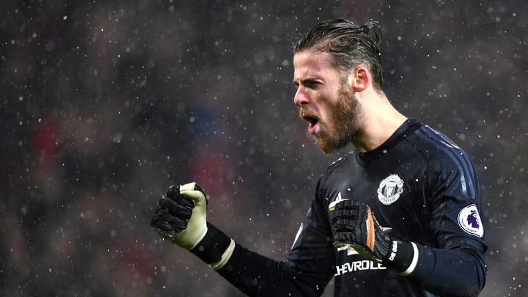 De Gea has shone this year for Manchester United