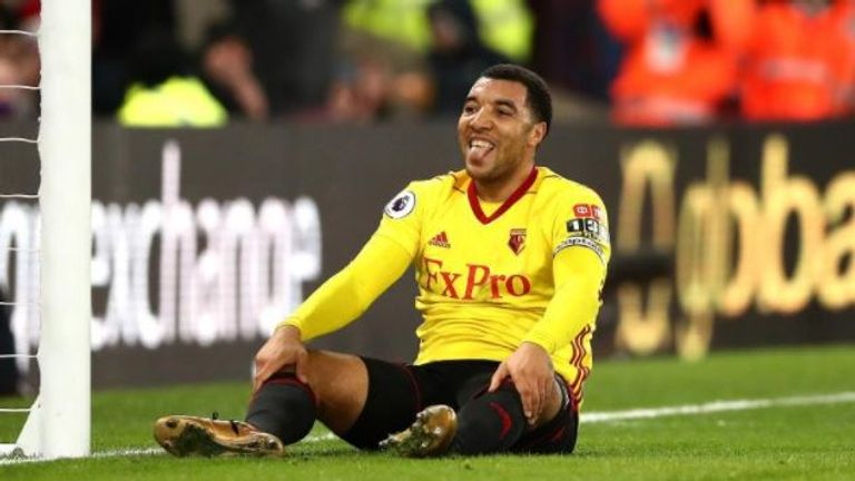 Troy Deeney looks set to miss Saturday's FA Cup tie against Southampton