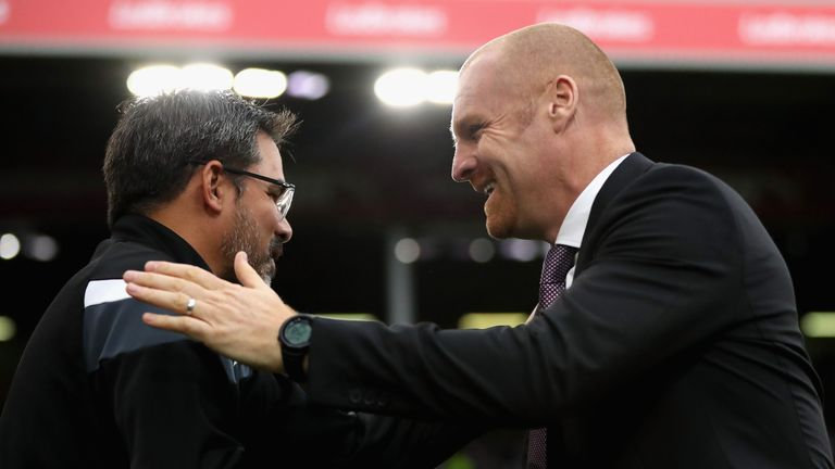 Sean Dyche has suggested David Wagner (left) for manager of the year