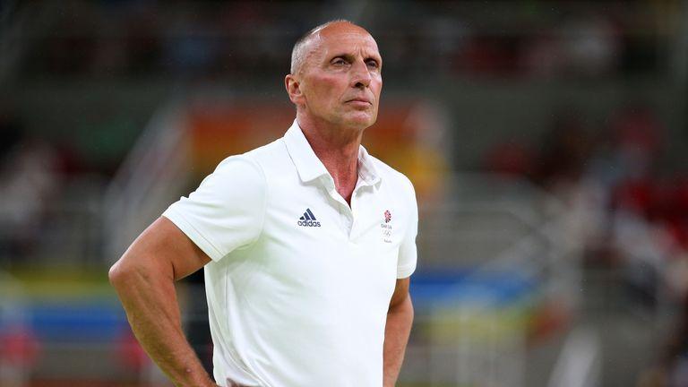 Team GB coach Eddie van Hoof has been suspended