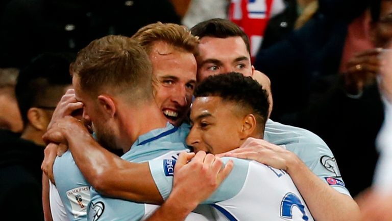 England will be hoping for more celebrations in Russia next year