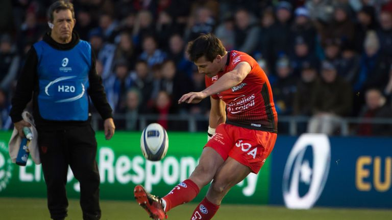 Francois Trinh-Duc kicked two conversions and a penalty in the victory