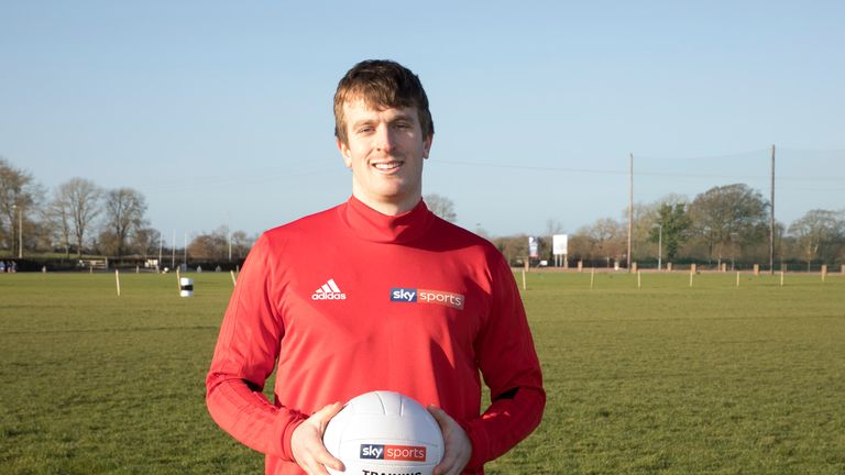 Paddy Brophy attended a GAA Super Games Centre training session in Maynooth