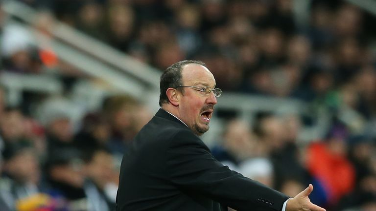 Rafael Benitez's Newcastle have lost six of their last seven games